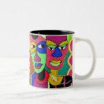 Heads 2, Heads 2 Coffee Mug