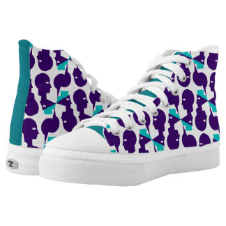 Heads High-Top Sneakers