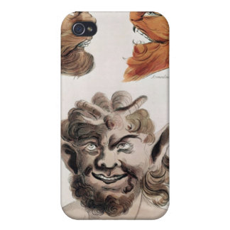 Heads of Evil Demons iPhone 4 Covers