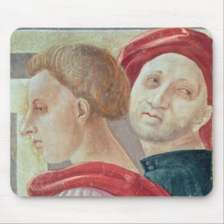 Heads of two men from the Presentation of Mary Mouse Pad