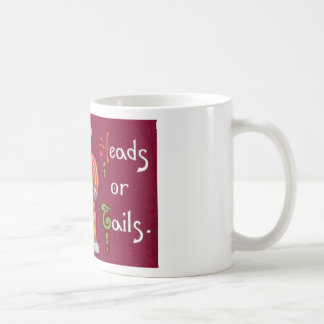 Heads Or Tails! Teddy Bears Classic White Coffee Mug