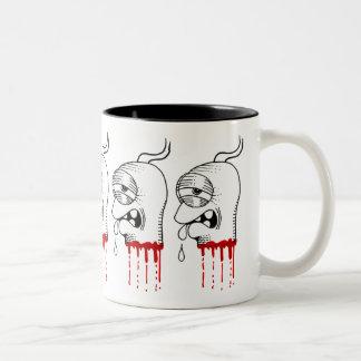 Heads Two-Tone Coffee Mug