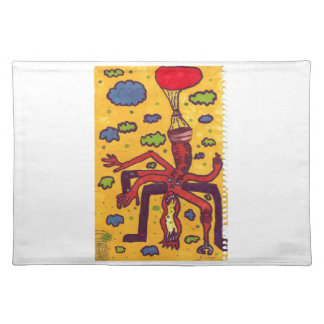 Heads up! cloth placemat