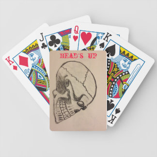 head's up Playing Cards