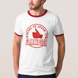 Heads up Seven Up Champion T Shirt