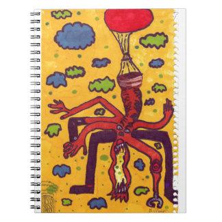 Heads up! spiral notebook