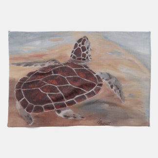 Heads Up Turtle American MoJo Kitchen Towel