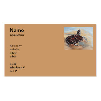 Head's Up Turtle Business Cards