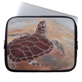 Head's Up Turtle Laptop Sleeve