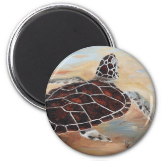 Head's Up Turtle Magnet