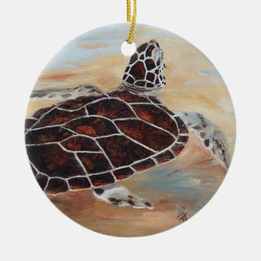 Head's Up Turtle Ornament