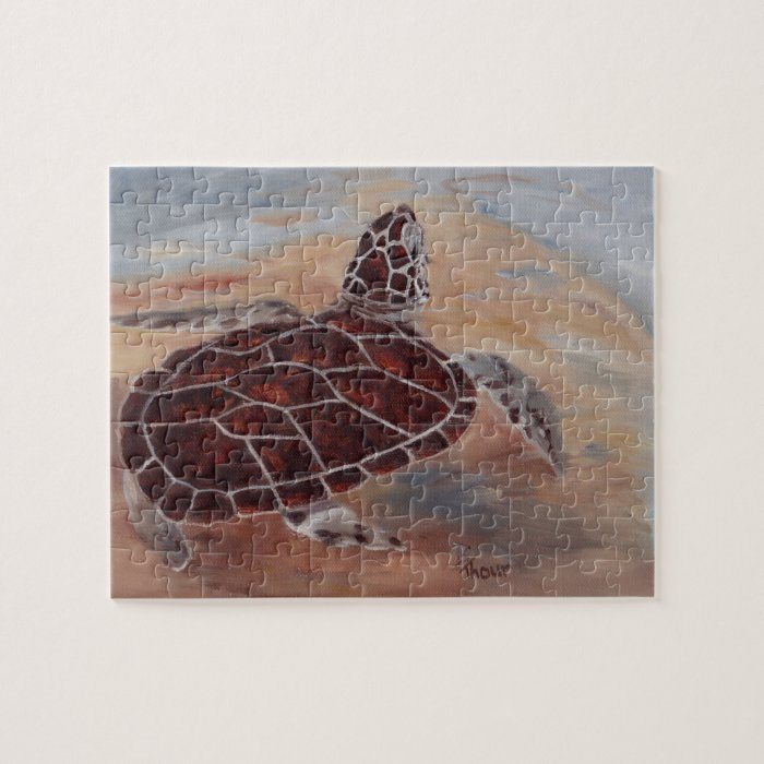 Head's Up Turtle Puzzle