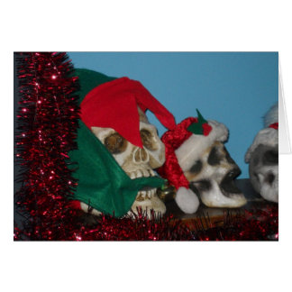 Heads Will Roll Christmas Notecard