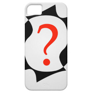 heads with a question mark iPhone SE/5/5s case
