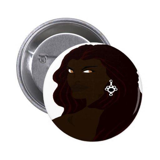 Headshot 4 (Sketchbook de Dreadlock favorable) Pin