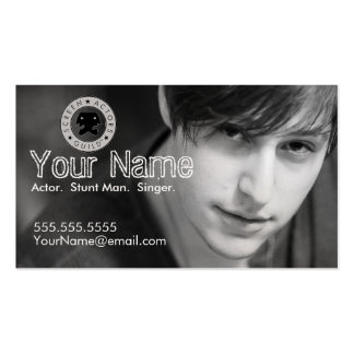 Headshot Business Card for the Working Actor II
