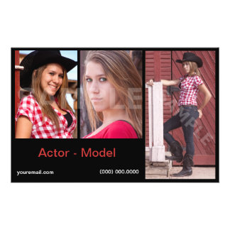 Headshot Model Comp Cards Affordable