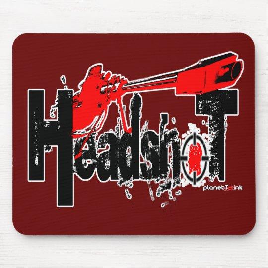 Headshot!  Mousepad