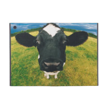 Headshot of Friesian Cow iPad Mini Case