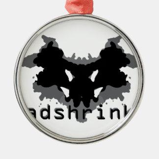 Headshrinker Metal Ornament
