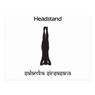 Headstand Postcard