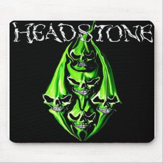 HEADSTONE 5 Green Skull Mousepad