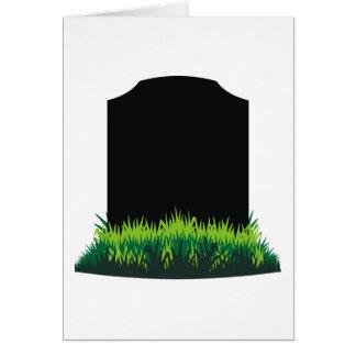 Headstone Card