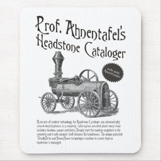 Headstone Cataloger de profesor Ahnentafel Mousepads