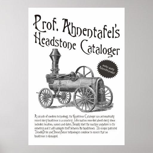 Headstone Cataloger de profesor Ahnentafel Impresiones