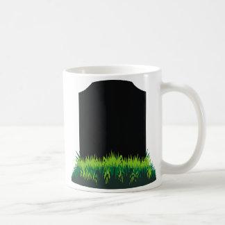 Headstone Classic White Coffee Mug