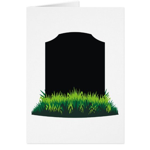 Headstone Greeting Cards