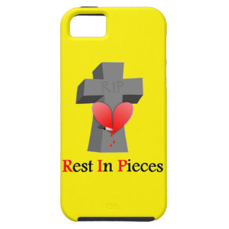 Headstone Heart Rest in Pieces iPhone SE/5/5s Case