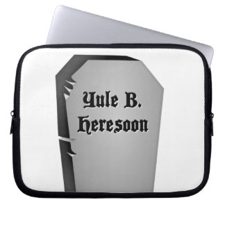 Headstone Humor Laptop Sleeve