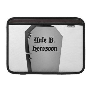 Headstone Humor Sleeve For MacBook Air