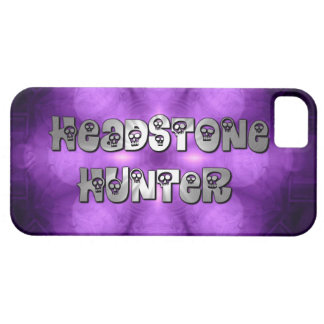 Headstone Hunter purple and silver iphone 5 case