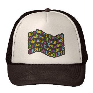 Headstone Hunting Genealogist Trucker Hat
