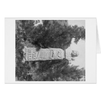 Headstone of Wild Bill Hickock's Grave Photograp Greeting Card