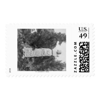 Headstone of Wild Bill Hickock's Grave Photograp Postage Stamps