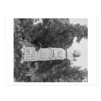 Headstone of Wild Bill Hickock's Grave Photograp Postcard