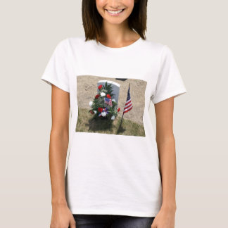 Headstone With Flowers T-Shirt