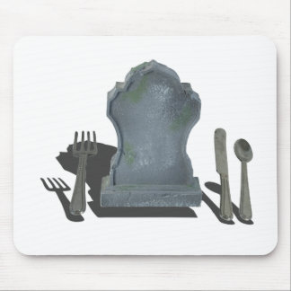HeadstoneAndSilverware070315.png Mouse Pad
