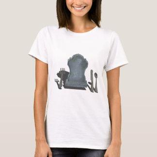 HeadstoneAndSilverware070315.png T-Shirt