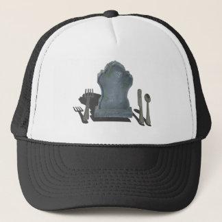HeadstoneAndSilverware070315.png Trucker Hat