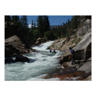 Headwaters of the Kern Rive Poster