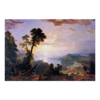 Headway by Asher Brown Durand print