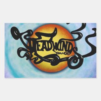 Headwinds Band Lives on! Rectangular Sticker