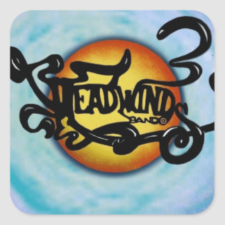 Headwinds Band Lives on! Square Sticker