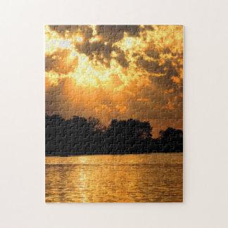 Heaevnely Sunset Puzzle
