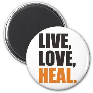 heal 2 inch round magnet