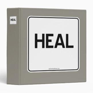 HEAL 3 RING BINDER